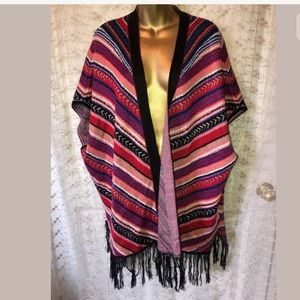 ND New Directions weekend poncho size 1X
